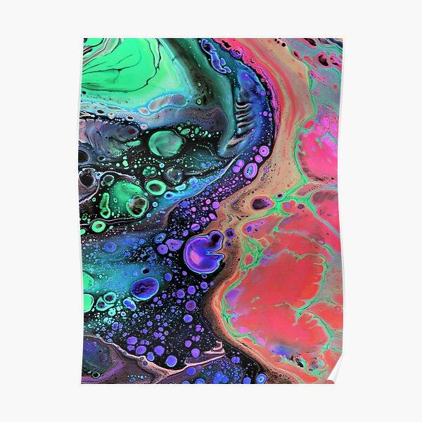 Jasper Sea - Coral Poster