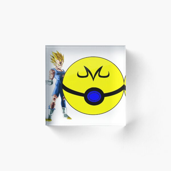 Majin Ball Acrylic Block