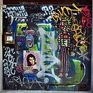Graffiti collage by sledgehammer