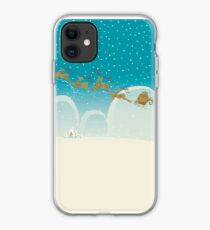 Santa Claus Deer iPhone Case