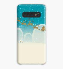 Santa Claus Deer Case/Skin for Samsung Galaxy