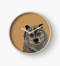 Bear Totem Clock