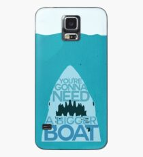 Jaws: You're Gonna Need A Bigger Boat Case/Skin for Samsung Galaxy