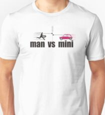 man vs mini T-Shirt
