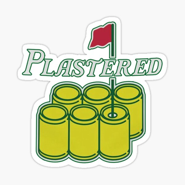 The Masters - Plastered Sticker