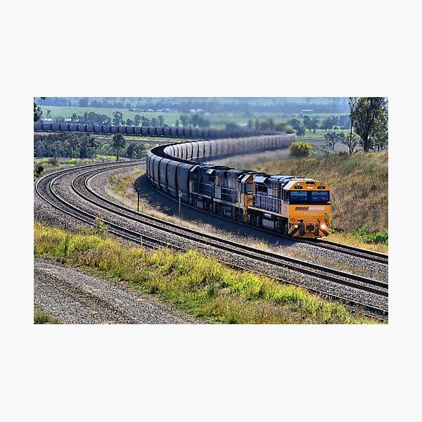 Hunter Valley Coal Train NSW Australia Photographic Print
