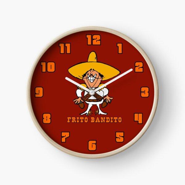Frito Bandito Clock