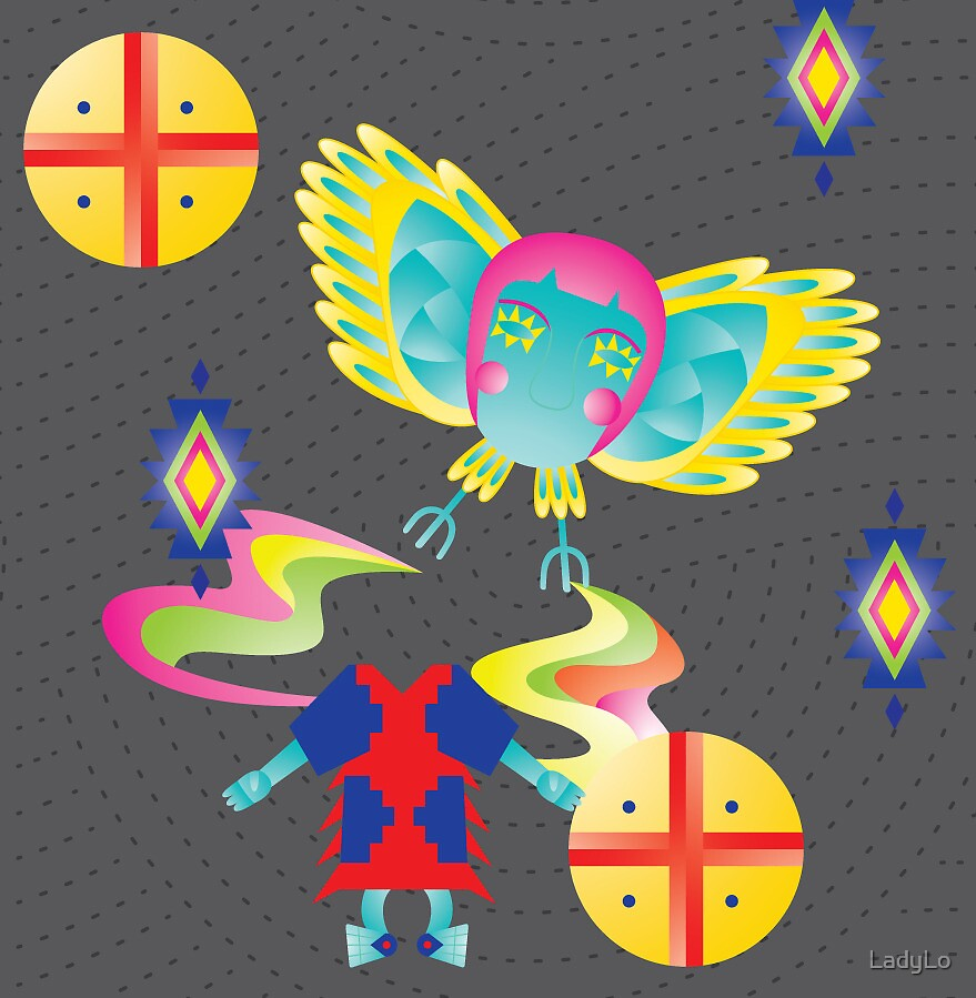 Chonchon Illustration by LadyLo