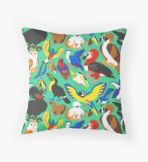 To Feather, But Not to Scale Throw Pillow