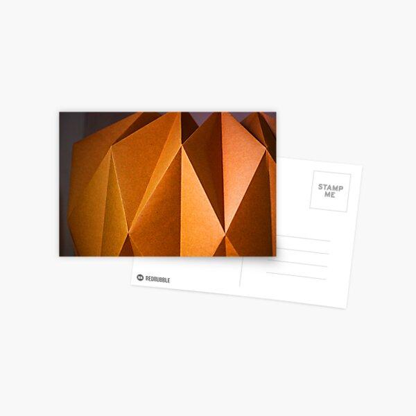 golden paper, kraft, gold, paper, origami, elegant, shimmer, scandinavia, cool, lit, trending, most sold, popular, famous, best selling, top selling, highly recommended    Postcard