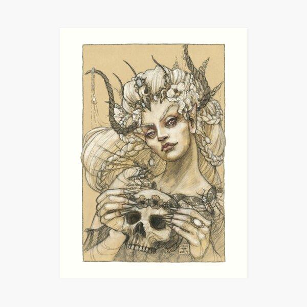 Proud Fairy Queen Art Print