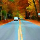 """Going Down the Road by Christine """"Xine"""" Segalas"""