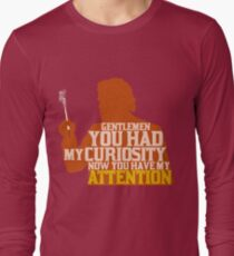 Django Unchained - Calvin Candie: Now You Have My Attention Long Sleeve T-Shirt