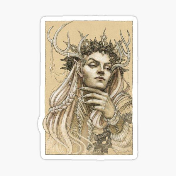 Fairy King Sticker