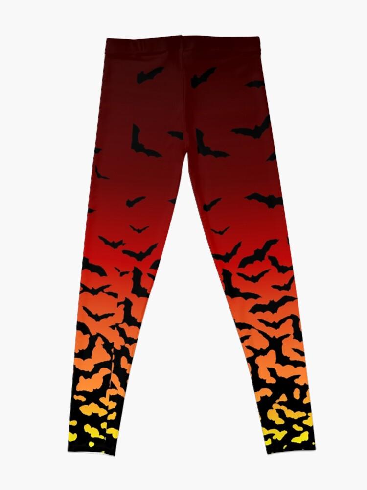 Alternate view of Bat Sunset Leggings