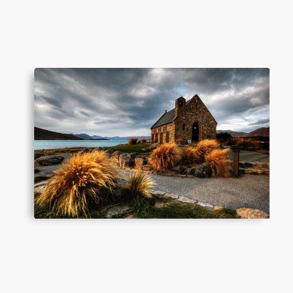 Church of the Good Shepherd, Lake Tekapo Canvas Print