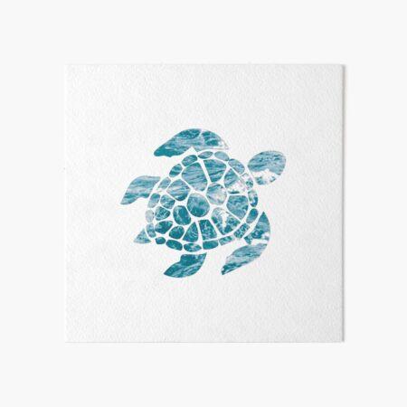 Ocean Turtle Art Board Print