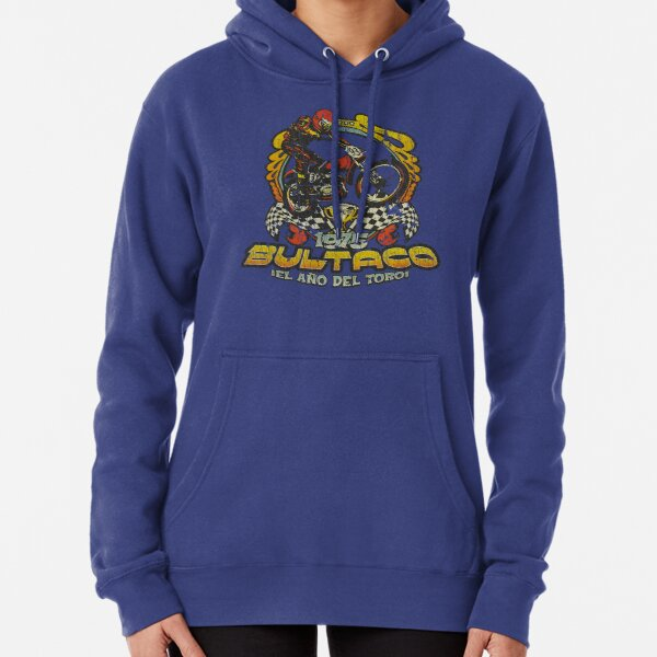 Bultaco 1975 Year of The Bull Pullover Hoodie