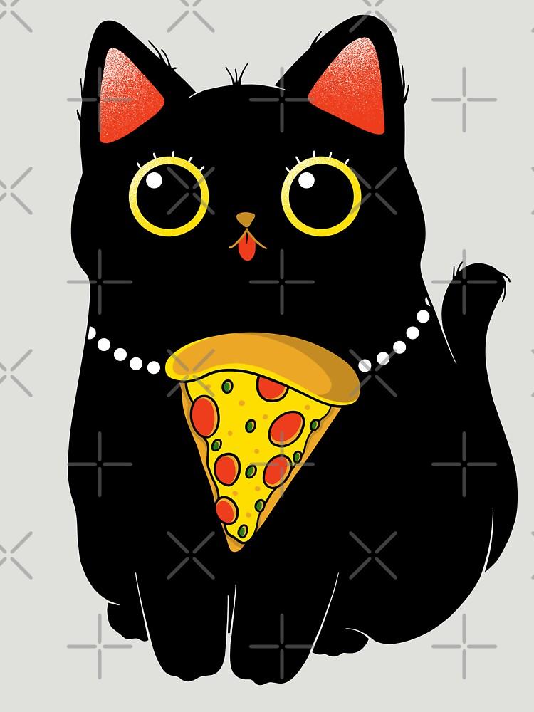 Pizza Cat by GODZILLARGE