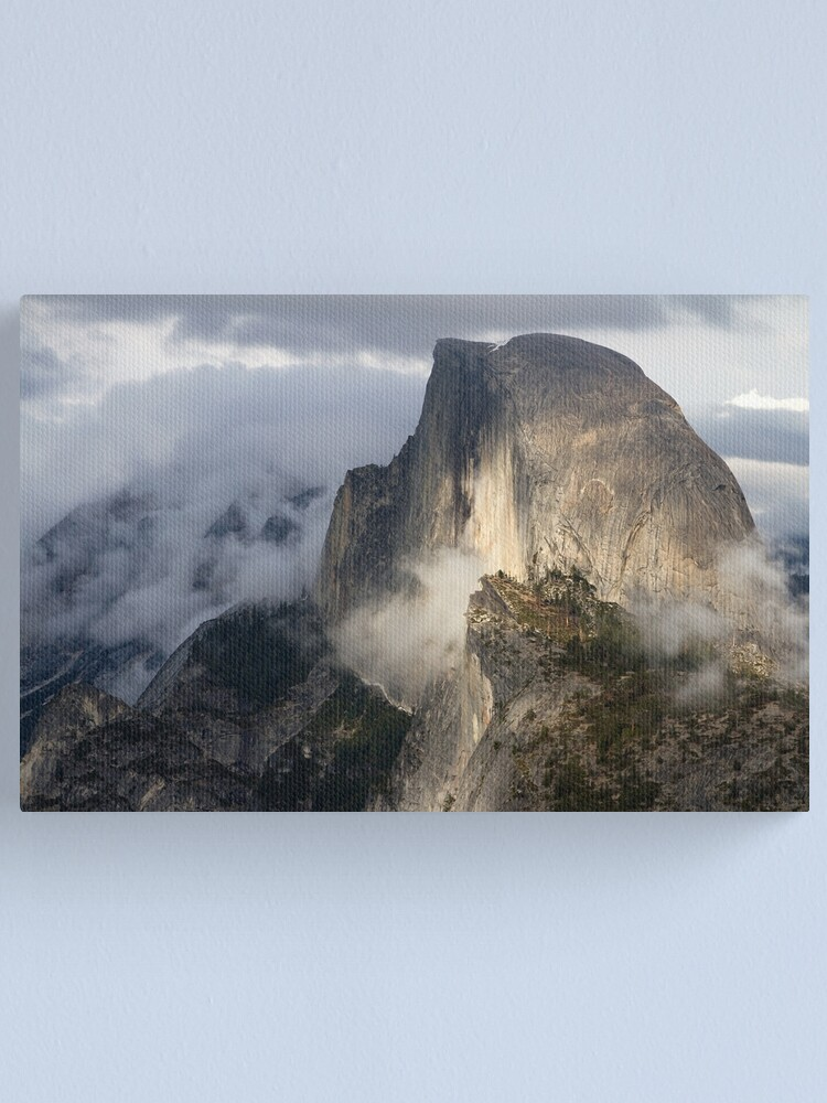 Alternate view of Half Dome in Storm Canvas Print