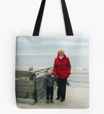 Day to the Zeeland Beach Tote Bag