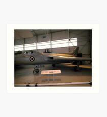 AVRO 707C(WZ744) Art Print