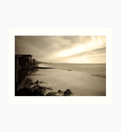 Dawlish Silk Art Print