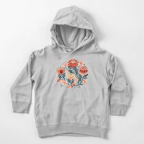 Protea Chintz - Mustard Toddler Pullover Hoodie