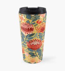 Protea Chintz - Mustard Travel Mug