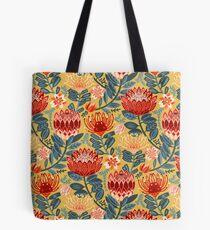 Protea Chintz - Mustard Tote Bag