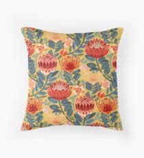 Protea Chintz - Mustard Floor Pillow