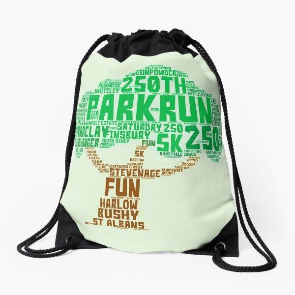 250th Park Run  Drawstring Bag