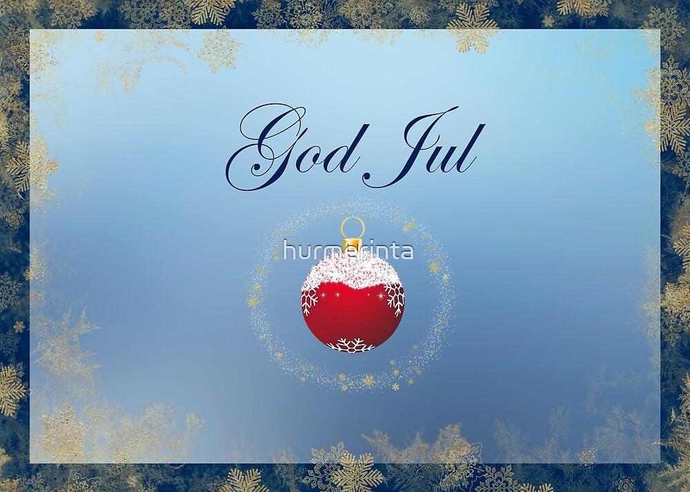 God Jul Design 3 by hurmerinta