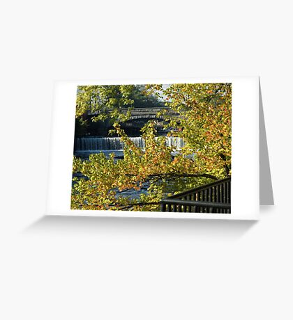 Valley Falls Greeting Card