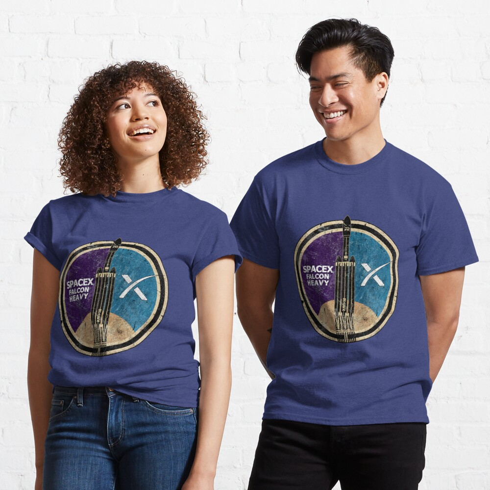 SpaceX Falcon Heavy Classic T-Shirt