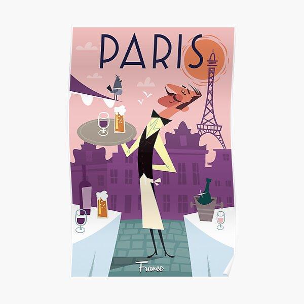 Paris poster Poster