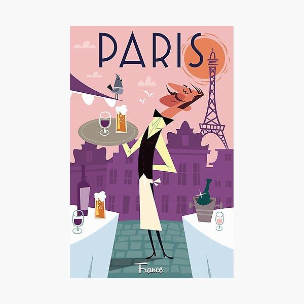 Paris poster Photographic Print