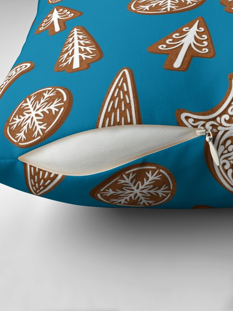 Alternate view of Christmas cookies Floor Pillow