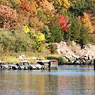 Farm River in the Fall by kremphoto