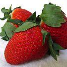 Strawberries by Gloria Abbey