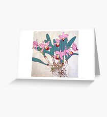 Orchids with roots  Greeting Card