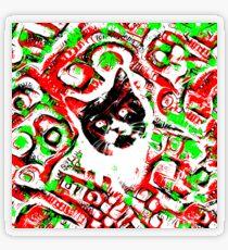 Gato Transparent Sticker