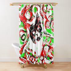 Gato Shower Curtain