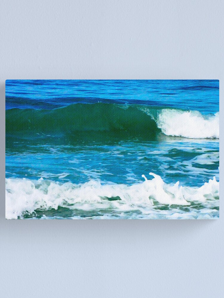 Alternate view of Wave #1  Canvas Print