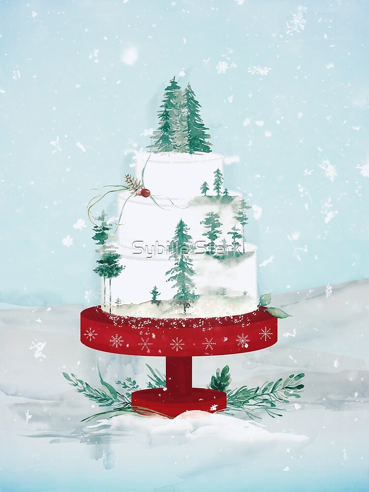 A Winter Cake by Sybille Sterk