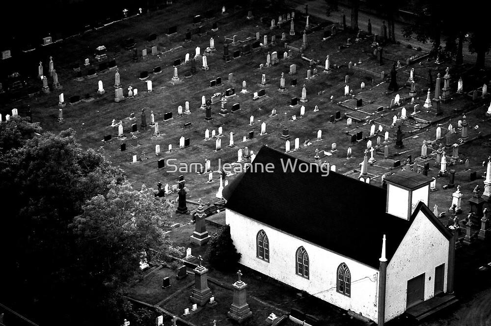 Graveyard - Nova Scotia, Canada by Sami Wong