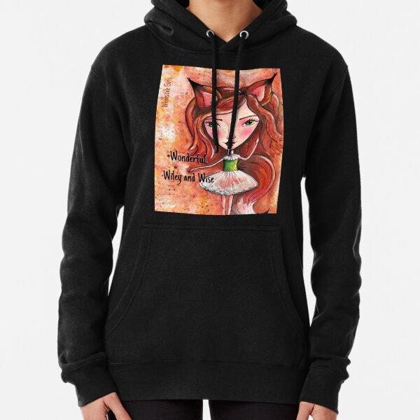 Wiley Fox - Whimsitale Girl Pullover Hoodie