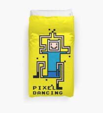 PIXEL DANCING Duvet Cover