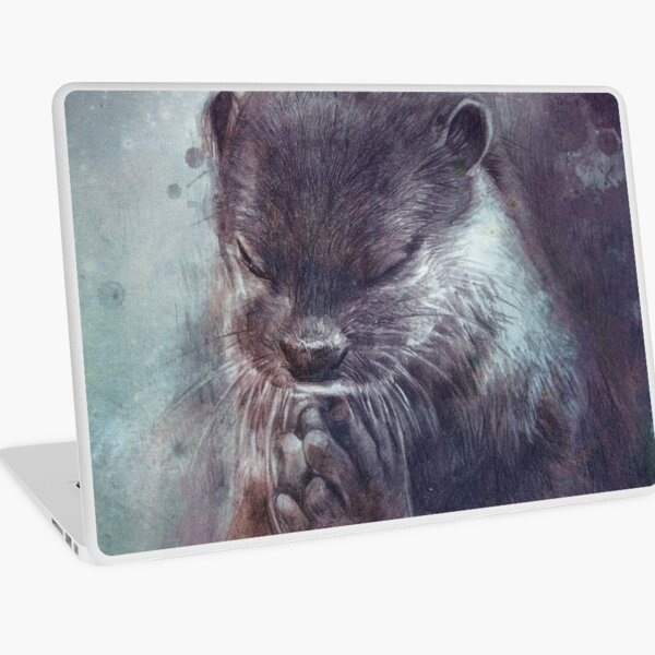 Holy Otter Laptop Skin