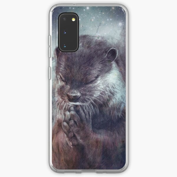Holy Otter in space Samsung Galaxy Flexible Hülle